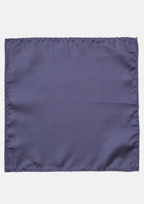 Blue Brewster Pocket Square
