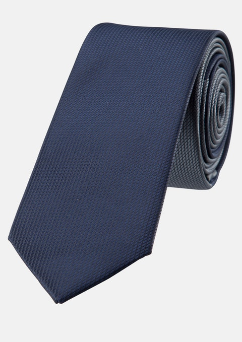 Dark Blue Marco Spliced Tie