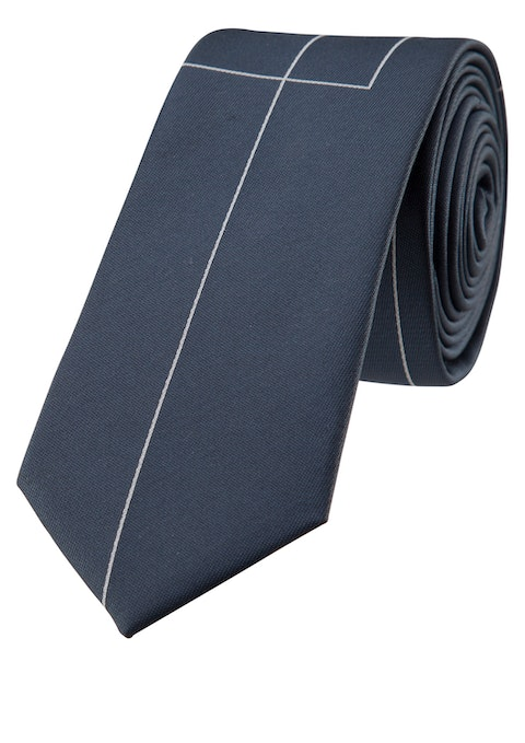 Steel Blue Mac Fashion Tie