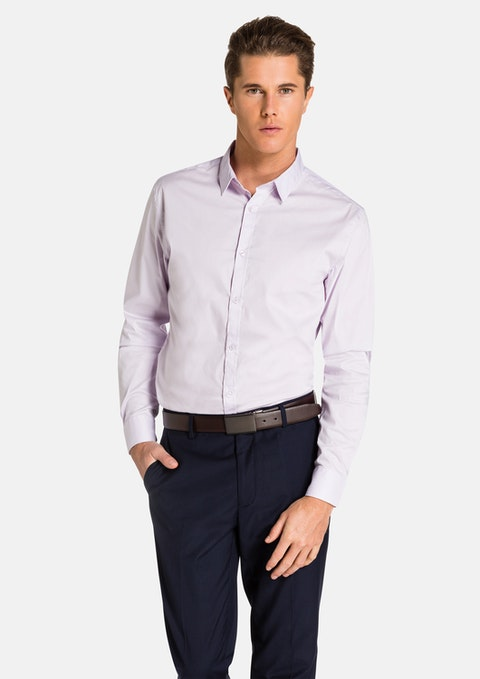 Purple Vaughn Slim Fit Shirt