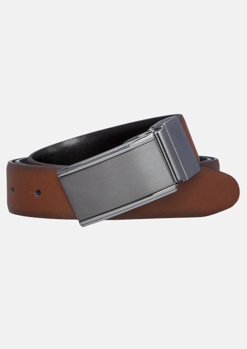Brown/black Monk 30mm Dress Belt