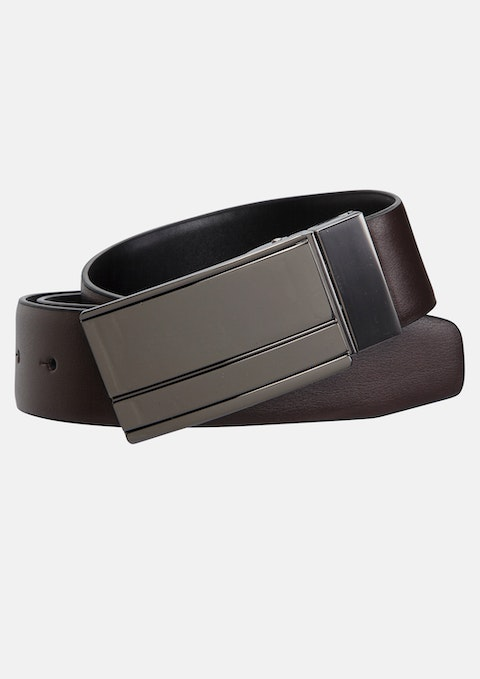 Brown/black Fredrick Dress Belt