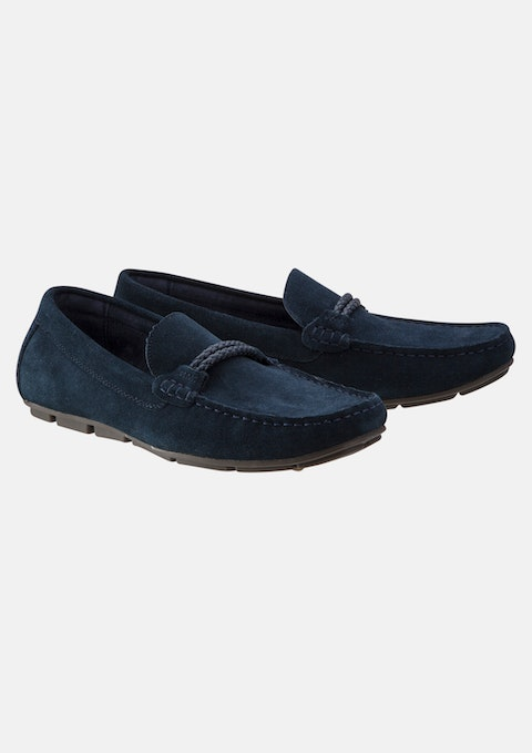 Navy Lucio Loafer