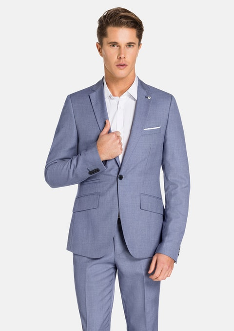 Steel Blue Florida Suit Jacket