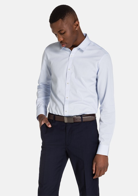 Light Blue Menton Dress Shirt