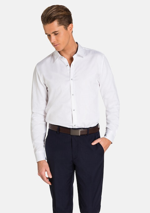 Ice Blue Arctic Slim  Fit Dress Shirt