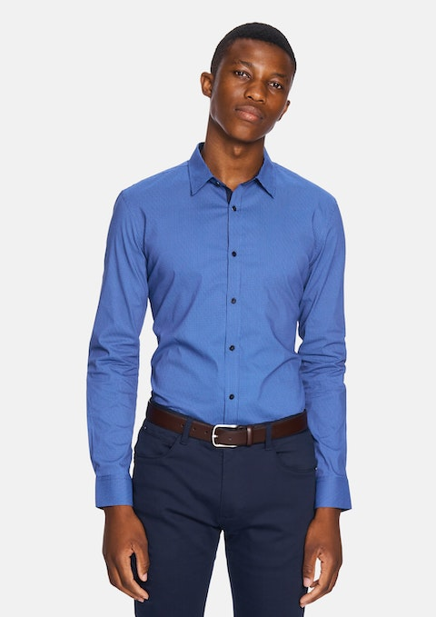 Blue Apsley Slim Shirt