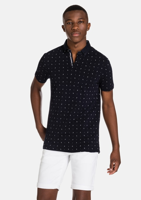 Navy Thurston Polo