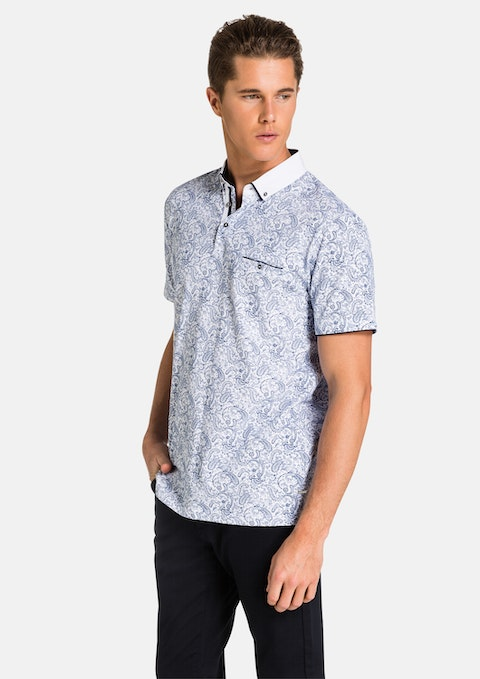 Paisley Blue Killian Polo