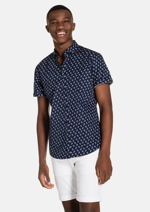 Palm Navy Coulter S/s Shirt