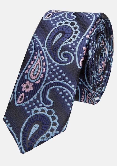 Navy Cobain 5cm Tie