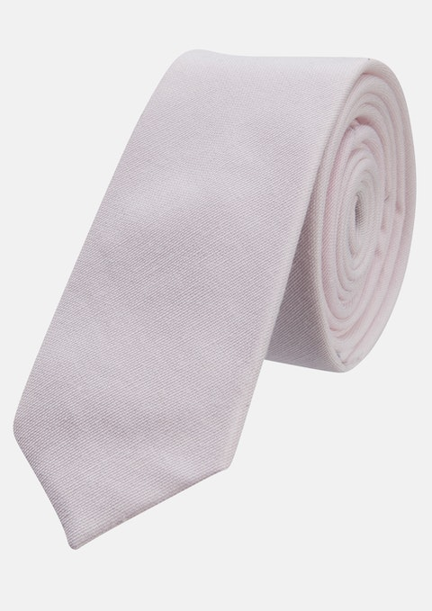Pink Chambray 5cm Tie