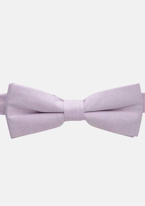 Lilac Chambray Bowtie