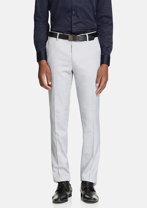 Light Grey Hoxton Skinny Dress Pant