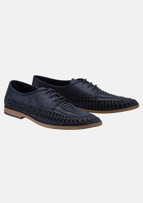 Dark Blue Tommy Casual Shoe