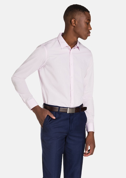 Pink Largo Slim Fit Dress Shirt