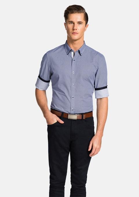 Blue Kappler Slim Fit Shirt