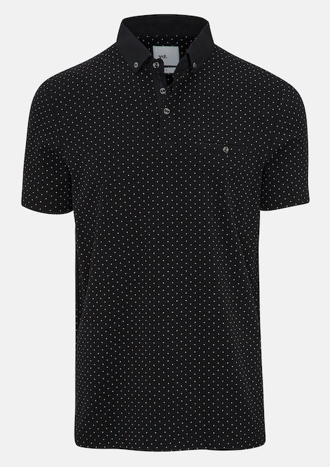 Black Maddox Polo