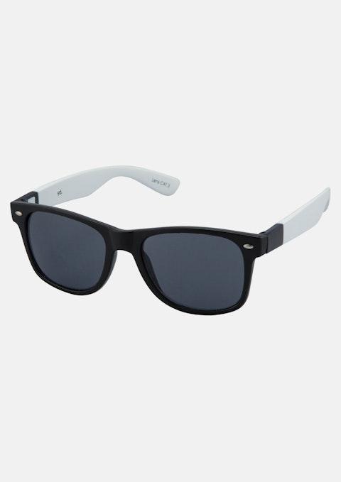 Black/white Jester Sunglasses