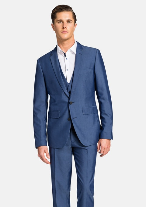 Blue Beamer Slim Suit