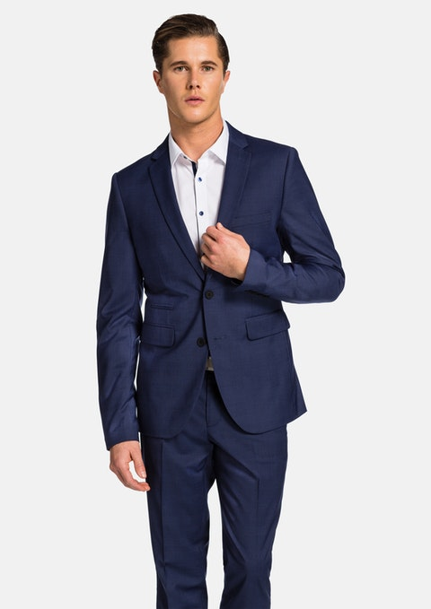 Blue Check Archie Skinny Suit