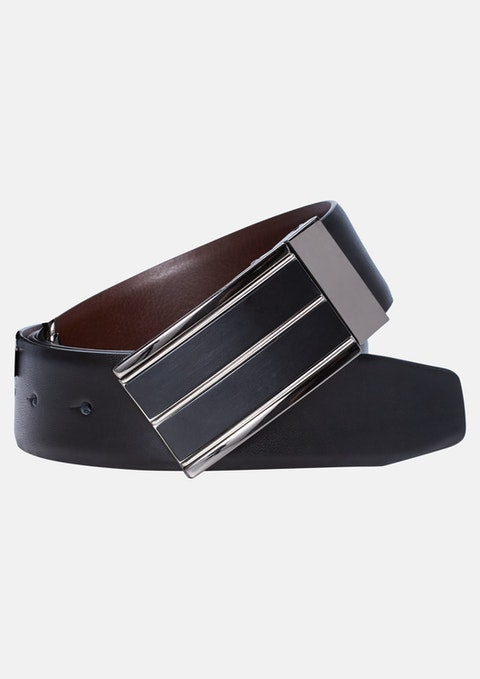 Black/choc Jase Dress Belt