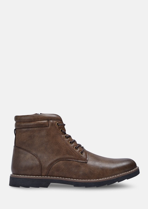 Brown Buzz Casual Boots