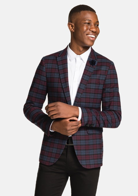 Shiraz Warner Check Blazer