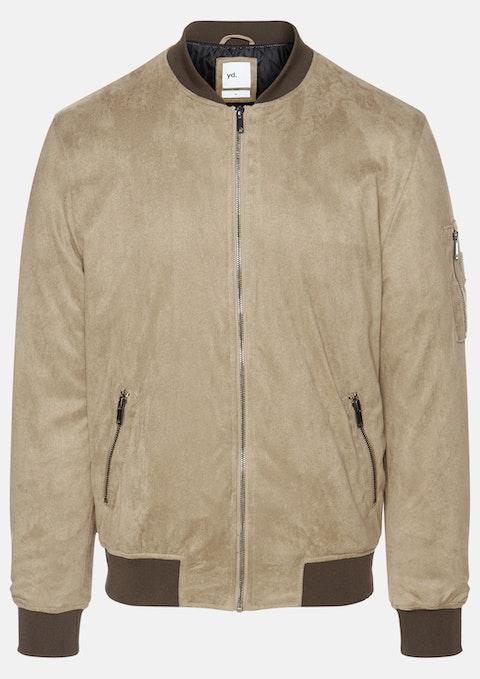Tan Rowan Suede Jacket