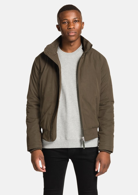 Khaki Oxley Utility  Jacket
