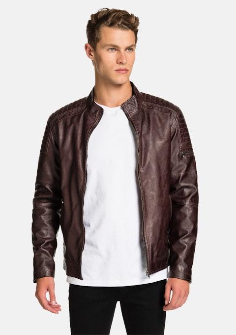 Brown Joel Biker Jacket