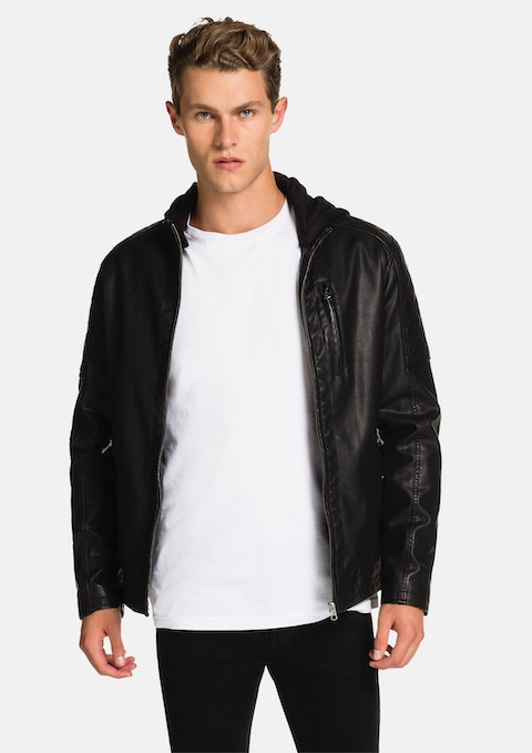 Black Jake  Biker Jacket