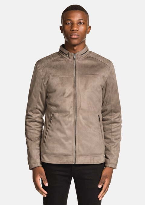 Grey Sammo Bomber Jacket