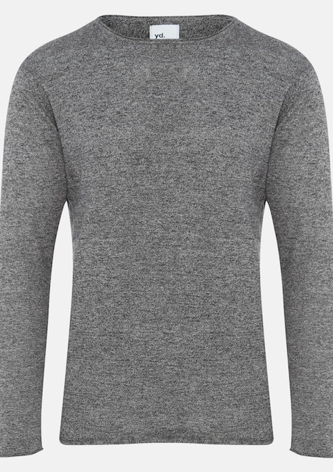 Charcoal Efron Muscle Knit