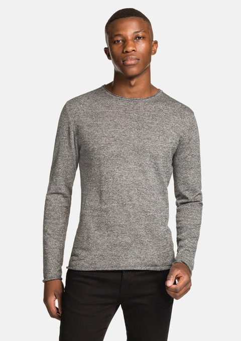 Grey Efron Muscle Knit