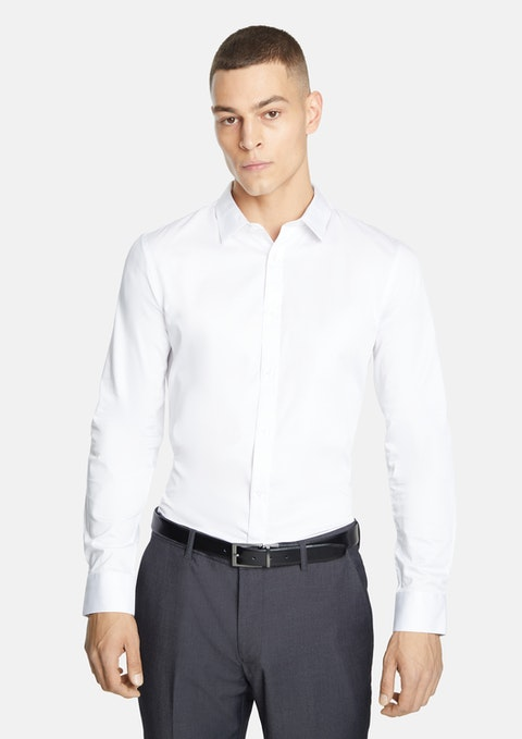 White Mission Slim Fit Dress Shirt