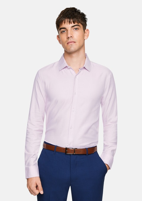 Light Pink Aramac Slim Dress Shirt