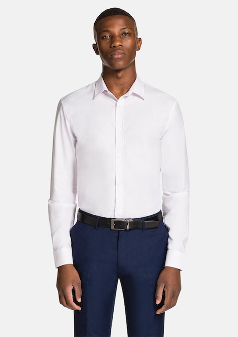 Pink Paolo Slim Dress Shirt