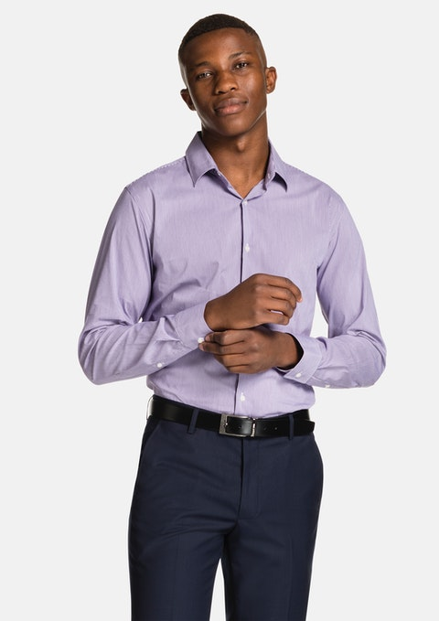 Purple Parc Dress Shirt