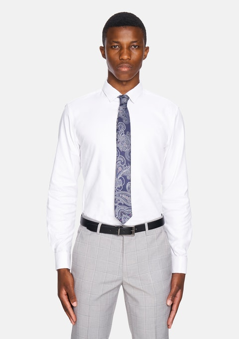 White Jax Dress Shirt