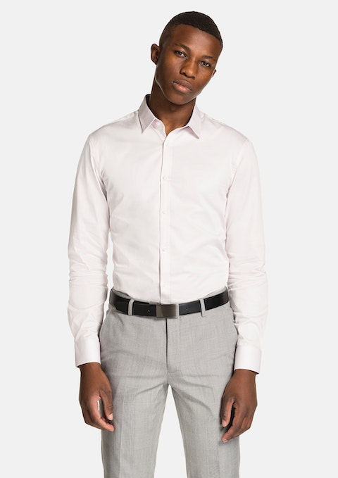 Pink Varrick Slim Fit Dress Shirt