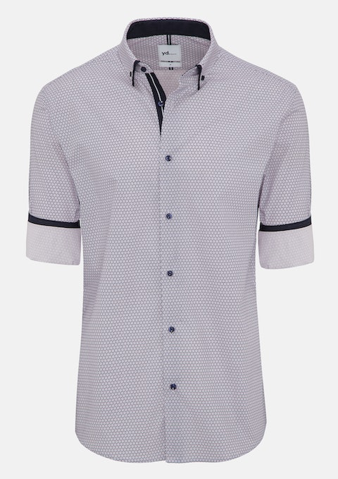Blue Arlo Slim Fit Shirt