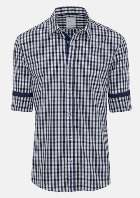 Navy Soho Slim Fit Shirt