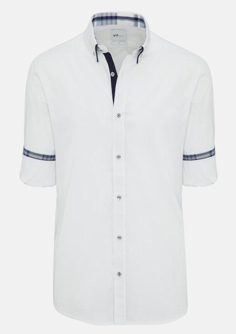 White Prymont Slim Fit Shirt
