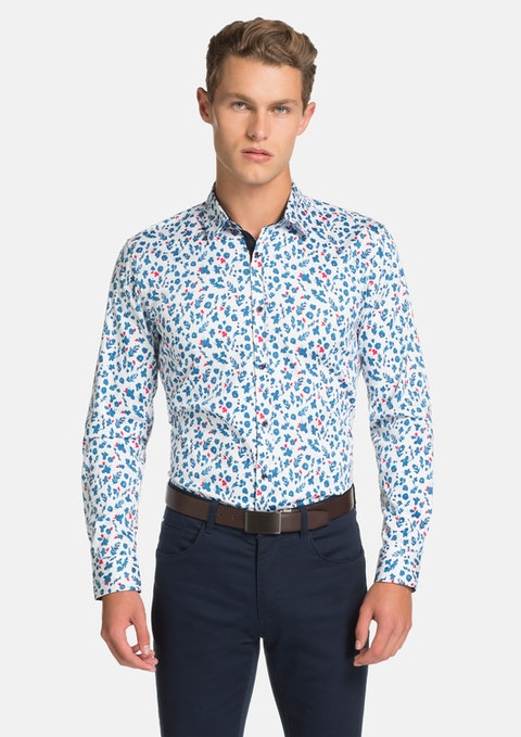 Multi Paulo Slim Fit Shirt