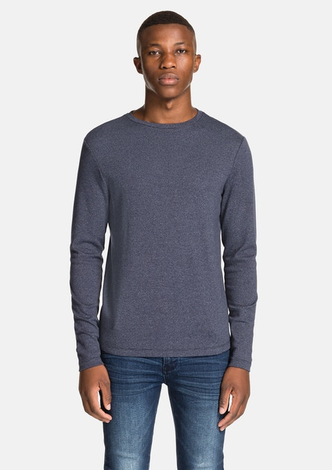 Navy Arnold Long Top