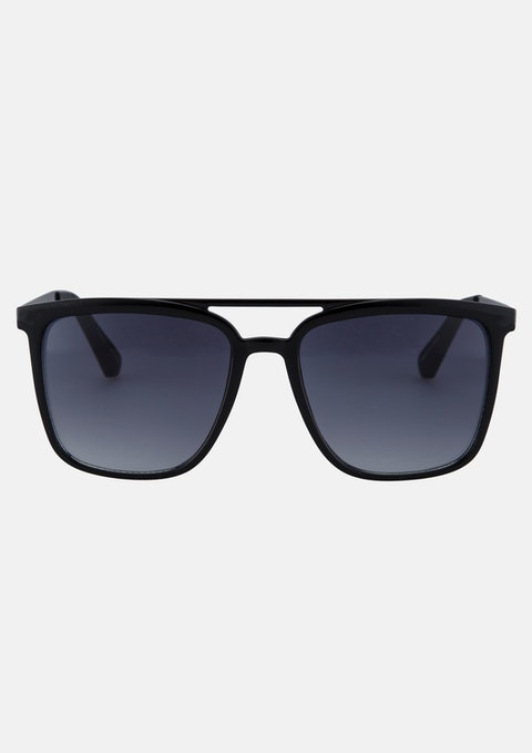 Black Ghostrider Sunglasses