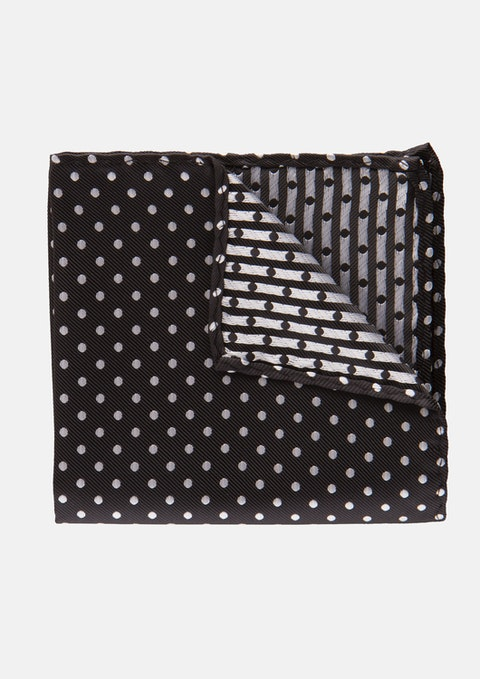 Black Genesis Pocket Square