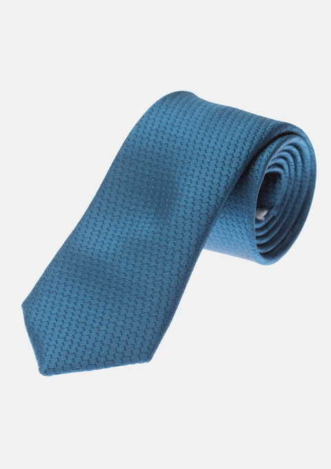 Slate Blue Maiden 5cm Tie