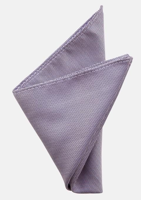 Lilac Jones Textured Pocket Square